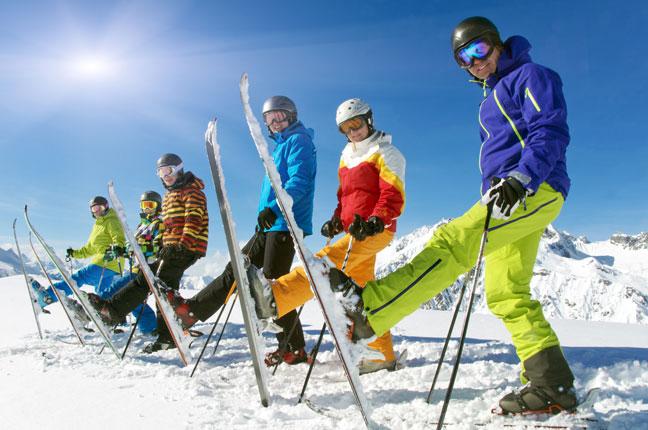 Finanzsportverein FSV Steiermark Skifahren